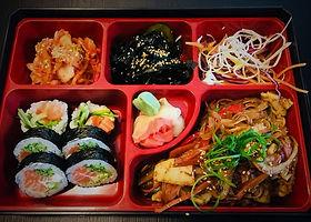 Lunch bento box mix