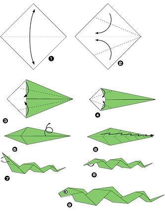 Origami waz