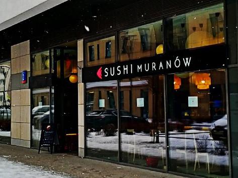 Sushi Muranow Witryna