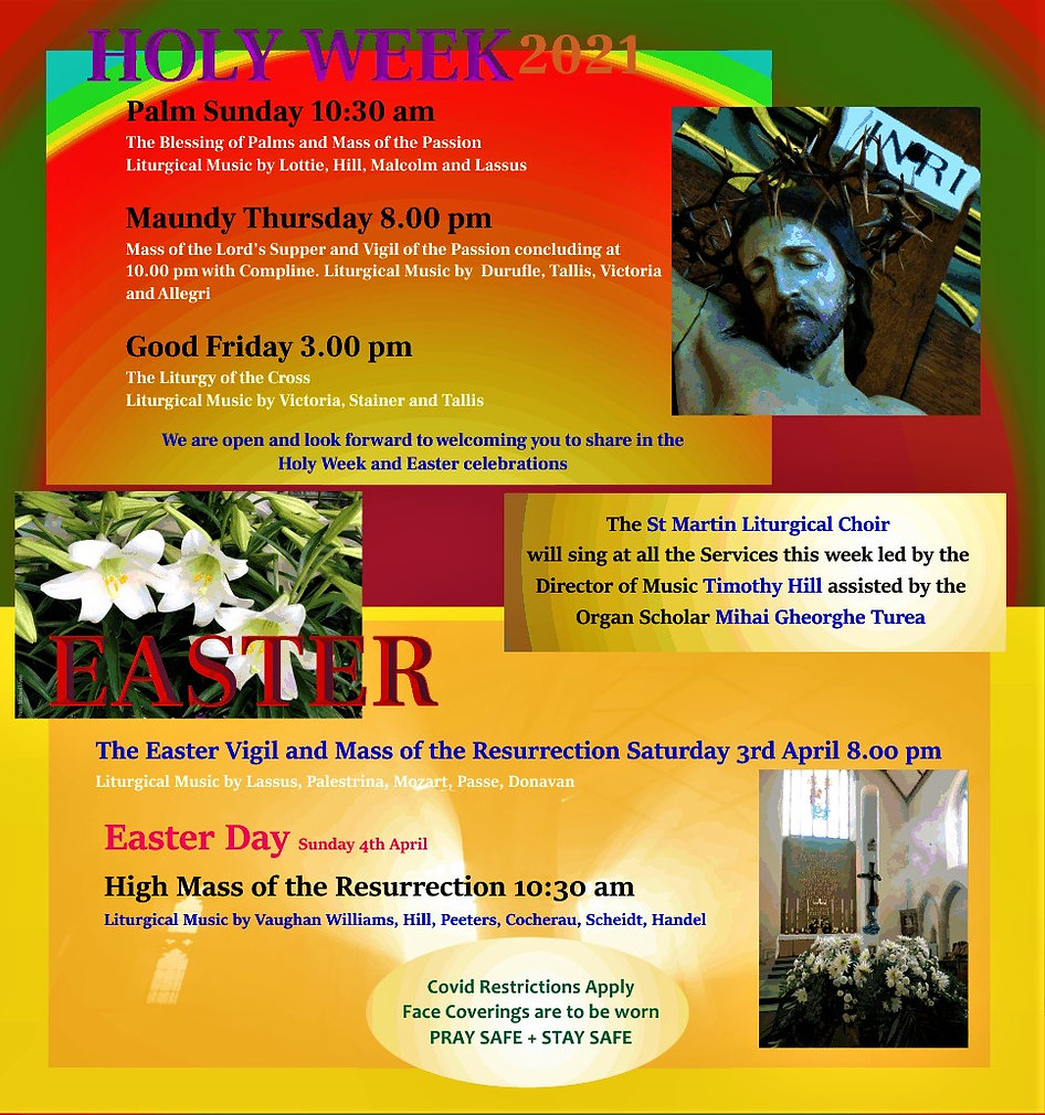 HOLY WEEK and EASTER 2021 update for web