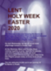 Lent Holy Week Easter New Panel for web