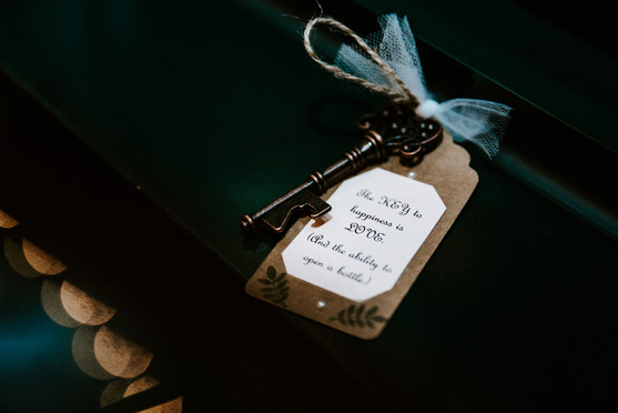 Key Wedding Favors