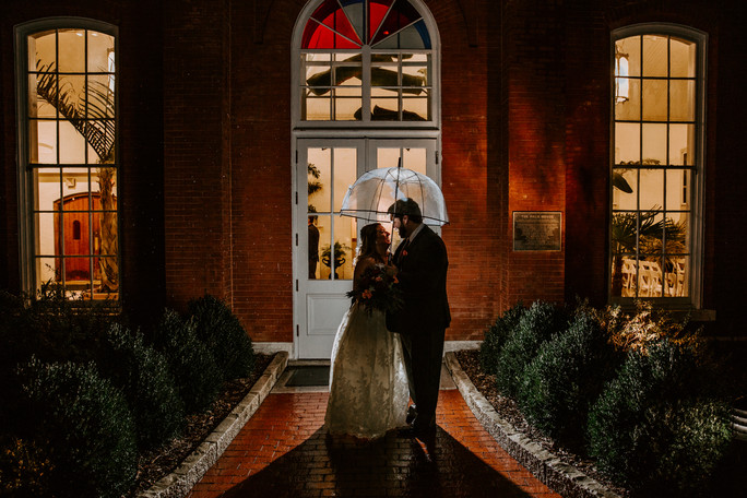 St. Louis Rain Piper Palm House Wedding