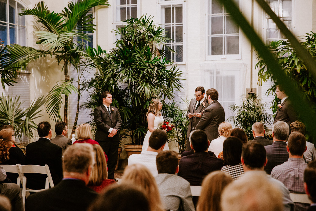 Modern Piper Palm House Wedding