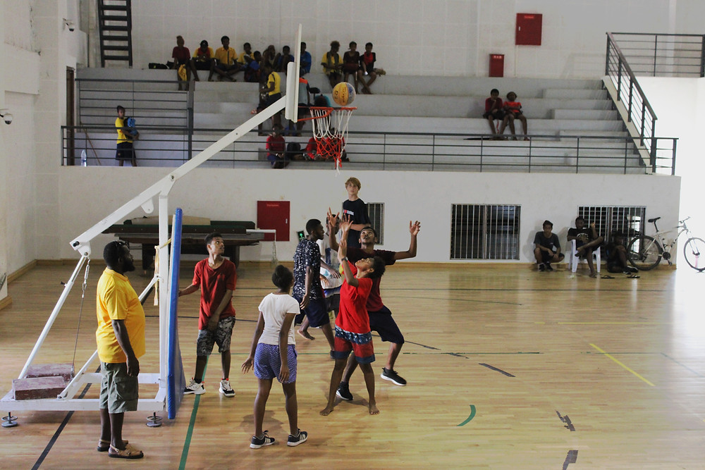Final of the Basketball 3x3 tournament