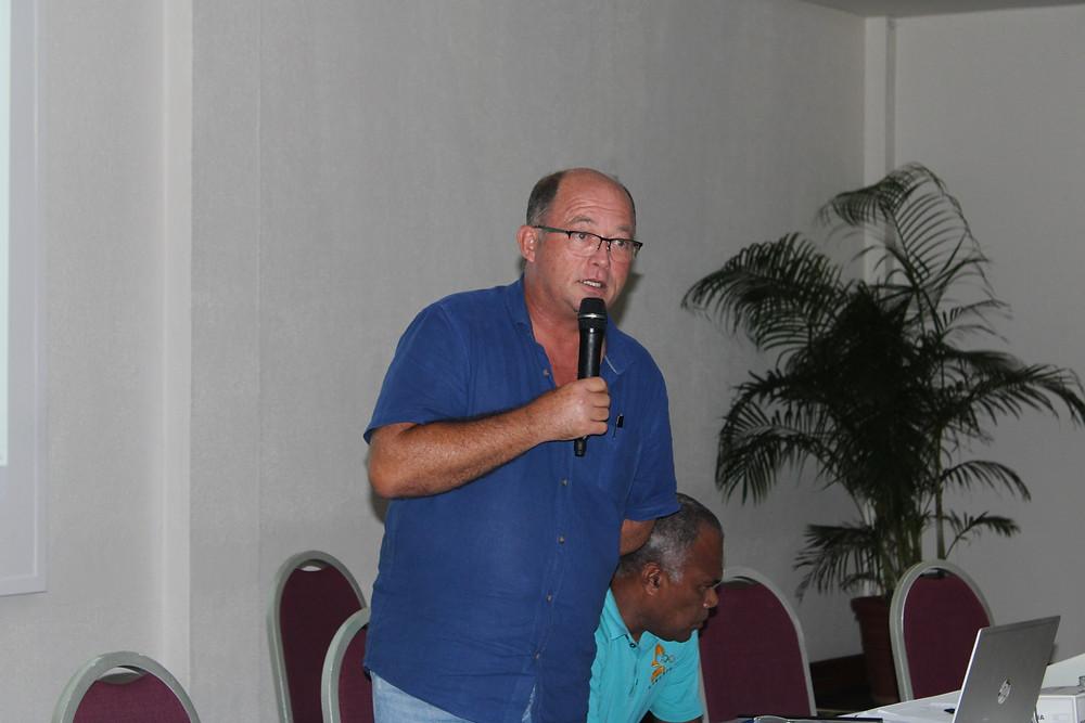 Mr. Antoine Boudier, President of VASANOC - @VASANOC