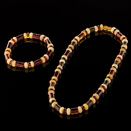 Necklace #CYLN009 Bracelet #CYLB009