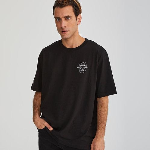 Camiseta Unisex negra basic