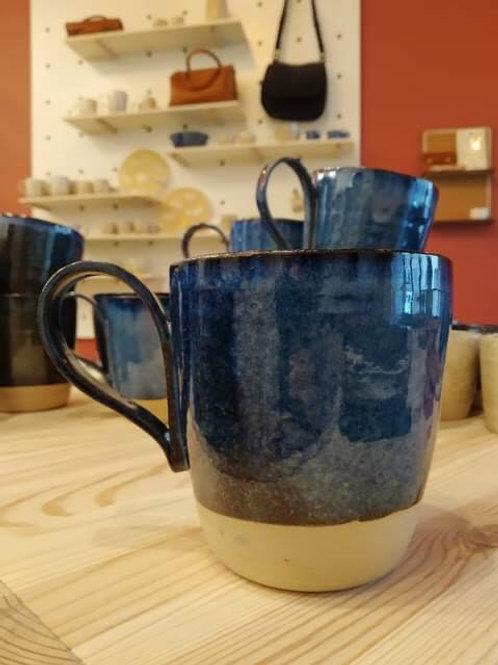 Mug bleu fjord