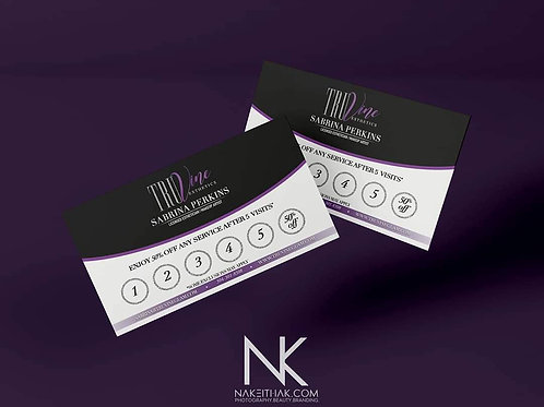 Loyalty Cards (Design Only)
