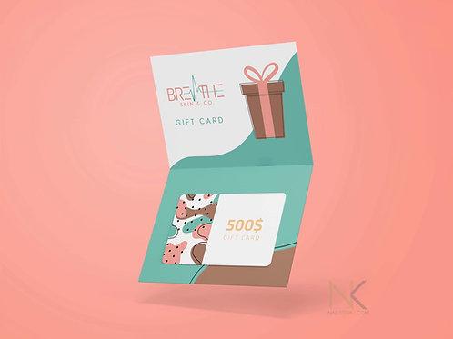 Custom Gift Card Design
