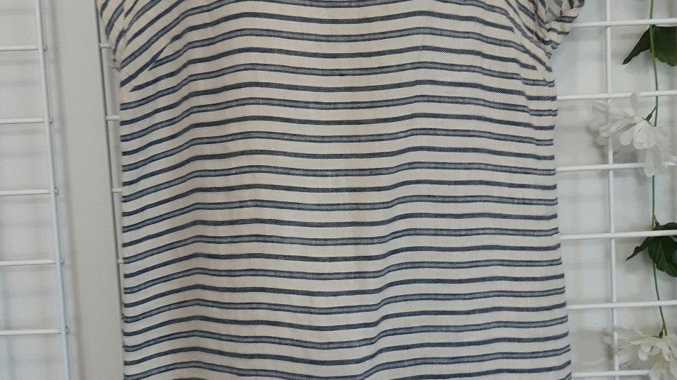 Taheri Linen tunic.  Size L