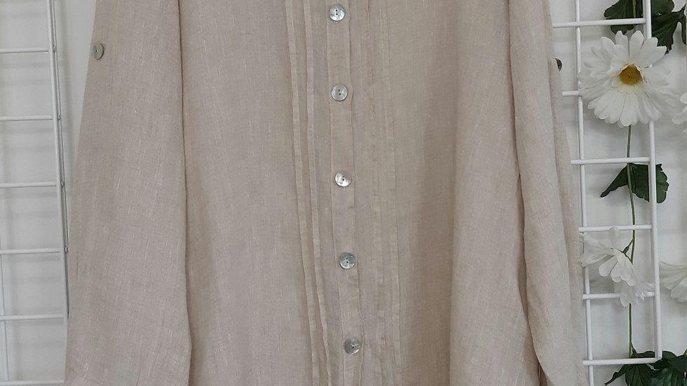 Camille & Co.  Linen shirt.  Size L