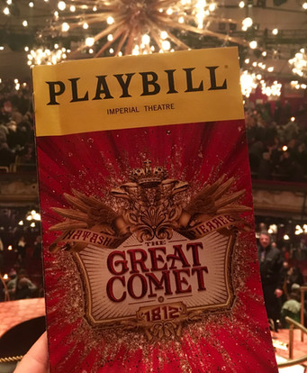 Arts & Culture: The Great Comet of 1812