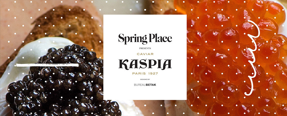 Caviar Kaspia Limited Time Pop Up