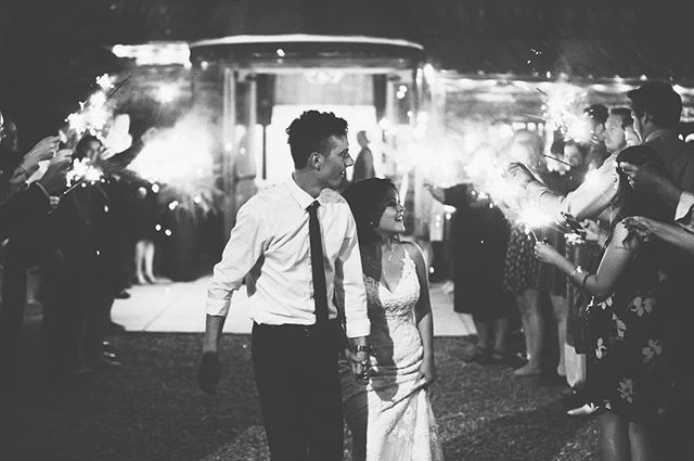 Sharing one of my own wedding photos for