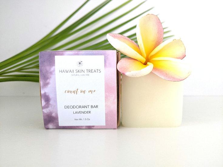 Count on Me Deodorant - Lavender