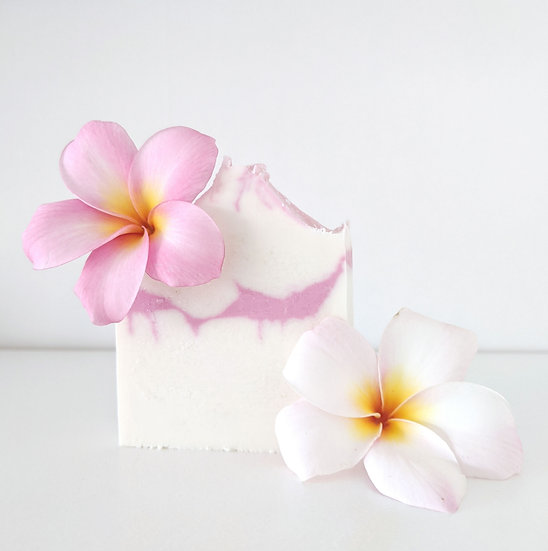 Natural Shea Soap Bar - Plumeria
