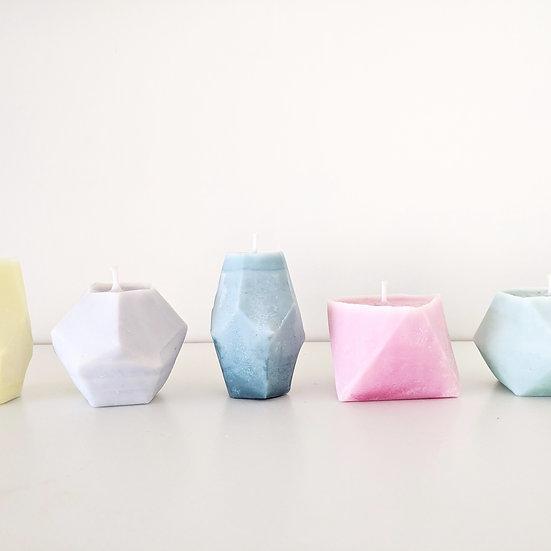 Bloktagon Candle Set
