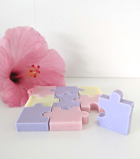 Soap Puzzle - Lavender, Plumeria, Eucalyptus & Bergamot