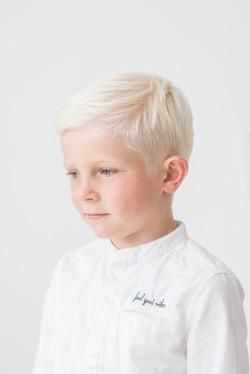 Barnfotografi: porträtt av en pojke