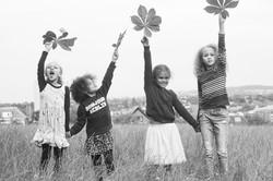 barnfotografering utomhus Uppsala