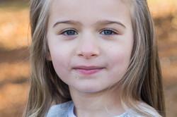 Naturliga porträtt barn