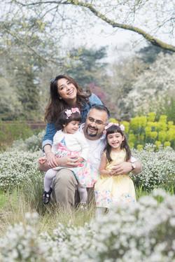 Familjefotografi utomhus