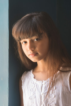 Barnfotografi porträtt