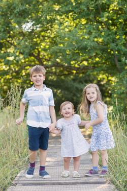Familjefotografering utomhu