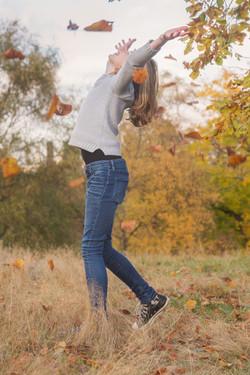 Barnfoto utomhus tonåring