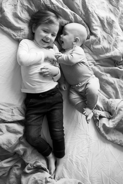 Syskon babyfotografering