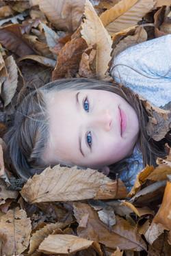 Höstfotografering barn