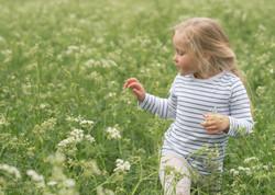 Naturliga barnfotografier