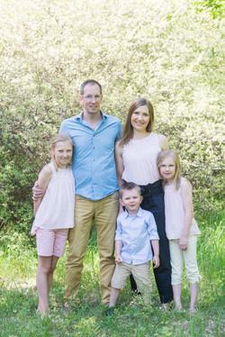 Familjeporträtt Stockholm