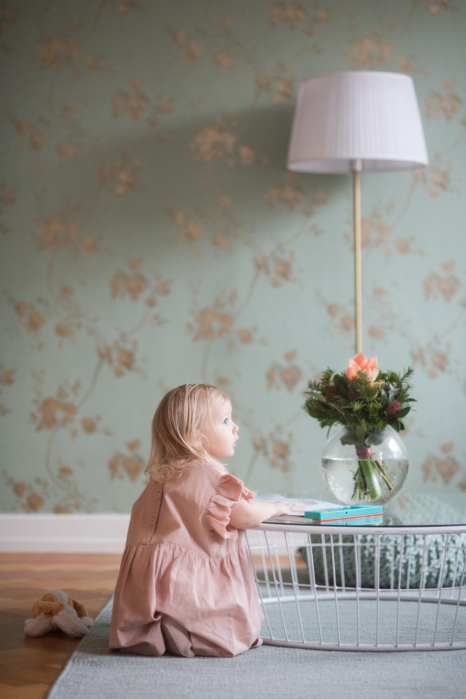 Barnfotografi: porträtt av en flicka