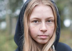 Tonåring porträtt