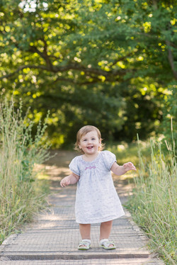 Barnfotografering i naturen