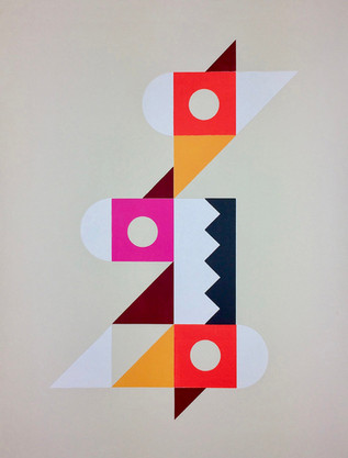 Modern ArtBuyer   Paul Minott, Mexico1 (Grey)