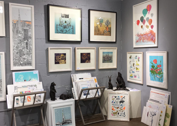 Rostra Gallery pop up gallery Milsom Place, Bath