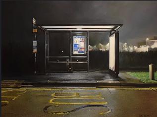 Rostra Gallery   Jonathan Stewardson, Sports Centre Stop (1am)