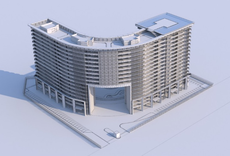 3D Modeling, architecture, exterior modeling