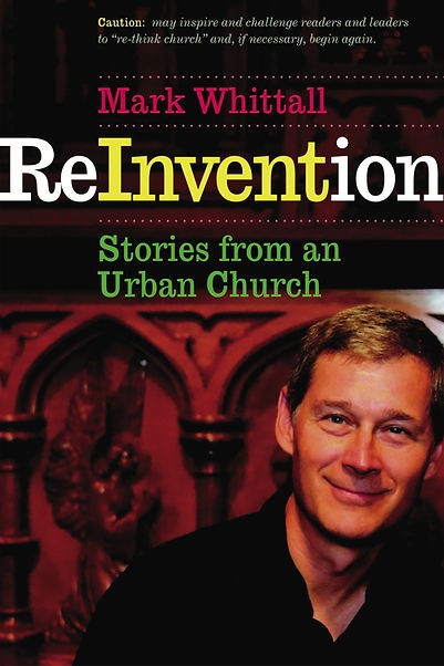 ReInvention: Stories from an Urbam church book cover