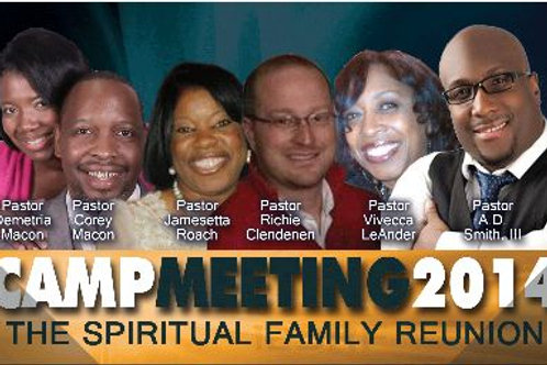 Camp Meeting 2014 CD Set