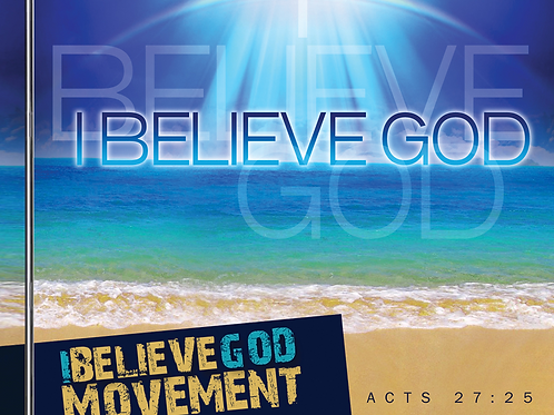 I Believe God CD