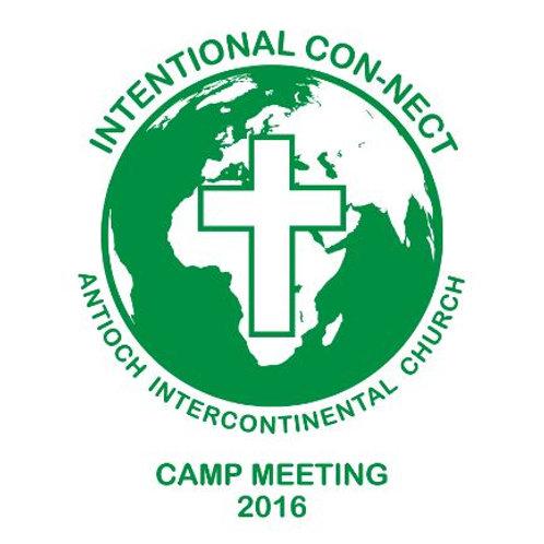 Camp Meeting 2016 T-Shirts