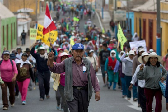 Peru anti mining protestor.jpg