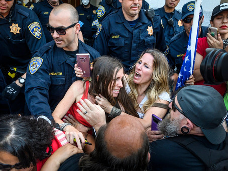 Women Fight the Police, Across America, as Feds Pull Out of Portland