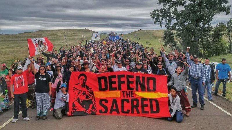 defend the sacred standing rock