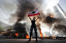Protests in Lebanon turn violent, protesters battle police for control of the streets of Beirut.